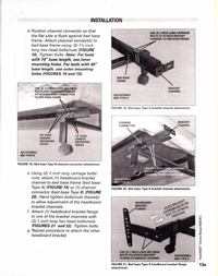 Headboard Attachment Instructions - Current Model I